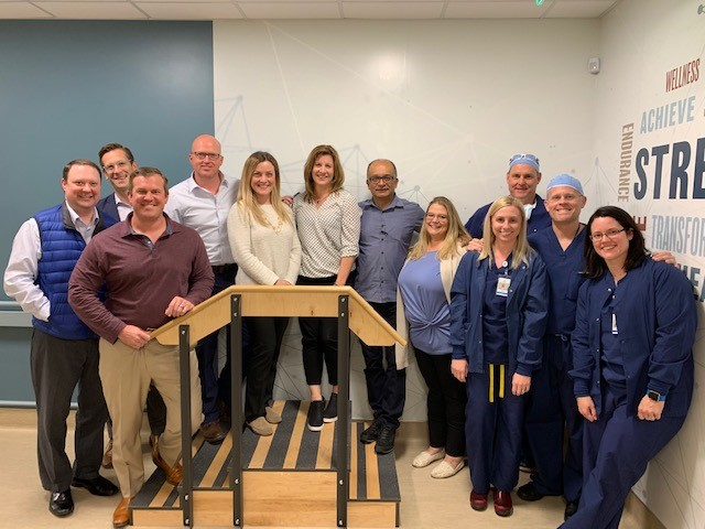 OrthoColorado visits Dr Ballard at Oregon Surgical Institute(OSI)